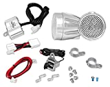 1996 toyota camry motor mount kit - Pyle 300 Watt Weatherproof Motorcycle Speaker and Amplifier System w/ Two 2.25 Inch Waterproof Speakers, AUX IN- Handlebar Mount ATV Mini Stereo Audio Receiver Kit Set - Also for Marine Boat - PLMCA60