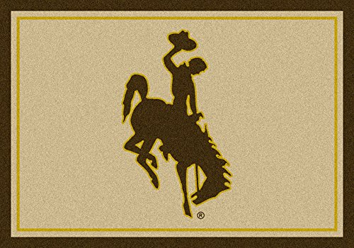 NCAA Team Spirit Door Mat - Wyoming Cowboys, 56'' x 94'' by Millilken