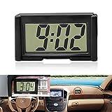 YOUNGFLY Mini Car Clock Auto Car Truck Dashboard