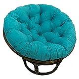 Blazing Needles Solid Twill Papasan Chair Cushion