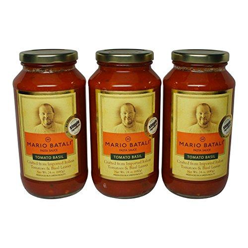 Mario Batali Tomato Basil Sauce 24 oz (3 -