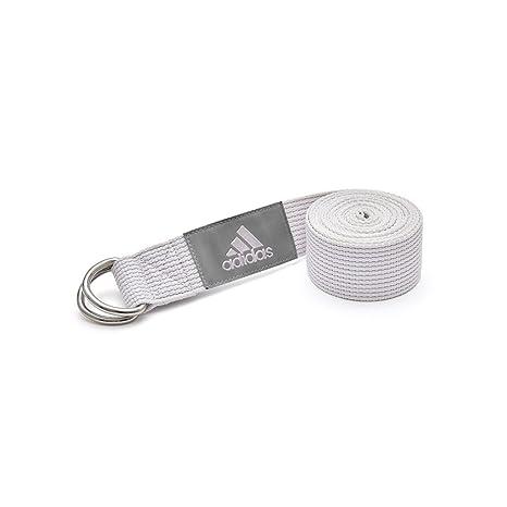 adidas Correa de Yoga - Tiza Blanco: Amazon.es: Deportes y ...