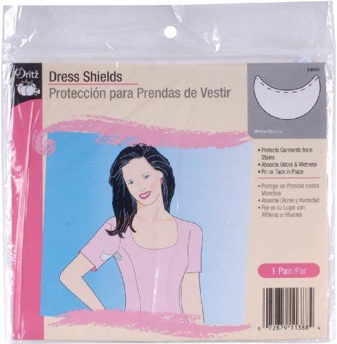 - Dritz Dress Shields Regular Shape White -1 Pair