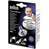 Braun Thermometer Disposable Lens Filters, 66025780-LF40EULA
