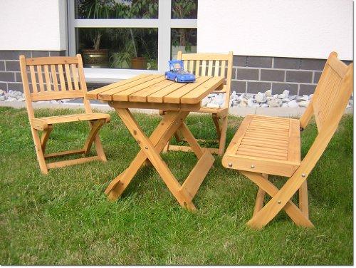 Relativ Amazon.de: Kindersitzgarnitur, 4-tlg, Gartenmöbel Garnitur für Kinder NF88