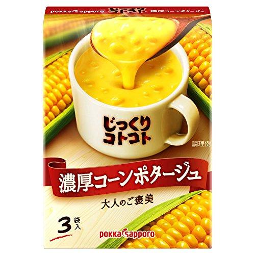 Pokka Sapporo carefully Kotokoto thick corn potage 3 Kuii X5 boxes by Carefully Kotokoto