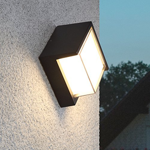Lámpara De Pared Terraza Balcón Impermeable Ultra Brillante