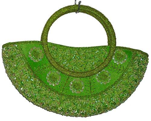 Geko - Bolso de asas para mujer Verde