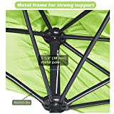 Yescom 10Ft Outdoor Patio Half Umbrella Cafe Wall