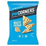 Medora Snacks Popcorners, White Cheddar, 142g