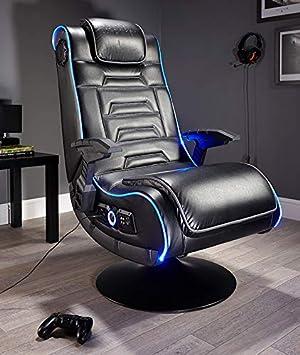 X Rocker Evo Pro 4 1 Chaise De Gaming Noir Amazon Fr