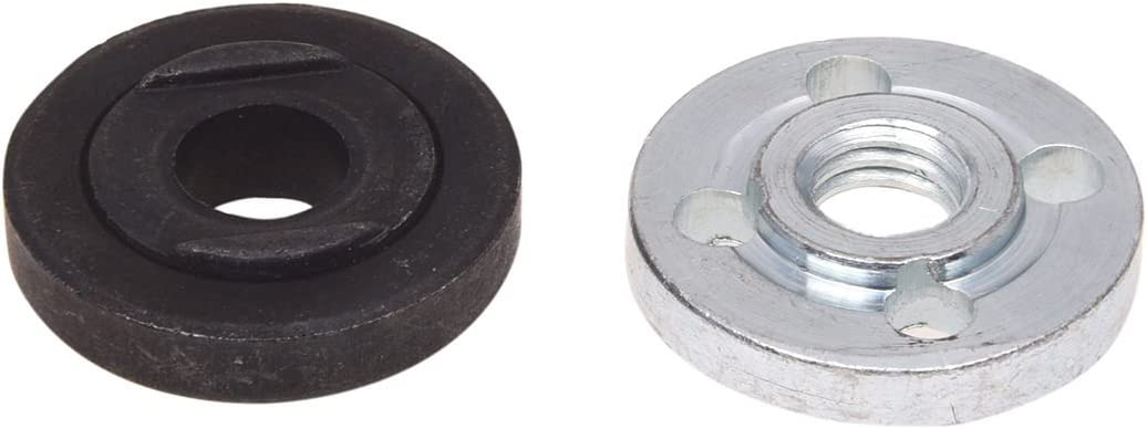 Moligh doll 2Pcs Replacement Angle Grinder Part Inner Outer Flange for 9523