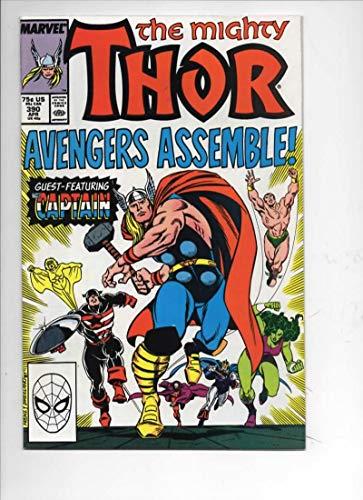 THOR #390 VF/NM God of Thunder Captain America 1966 1988, more Thor in store, Marvel