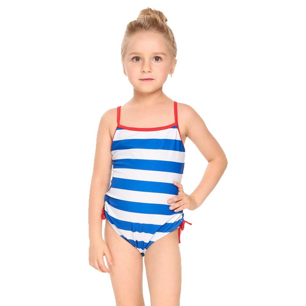 Zaclotre Kid Girls Swimsuits Floral One Piece Swimwear