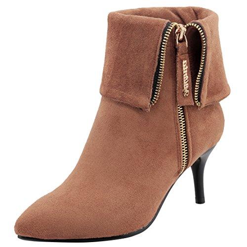 Classic Women's Women's Boot Boot AIYOUMEI Camel AIYOUMEI Camel Women's Classic AIYOUMEI Classic Boot U6xtwBZdq