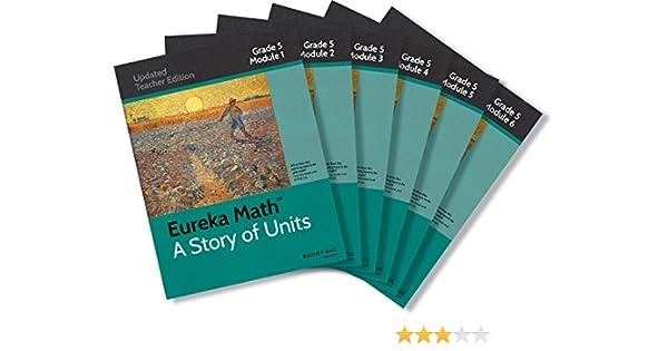 Amazon.com: Eureka Math Set Grade 5 (9781118965283): Great Minds ...