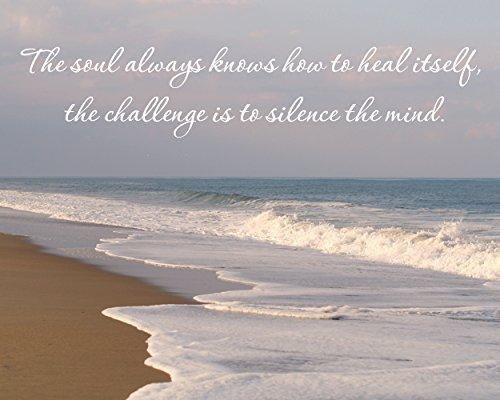 inspirational artwork for office. Coastal Wall Art, Inspirational Art Print, Soul Mind Quote, Healing Calming  Inspirational Artwork For Office N