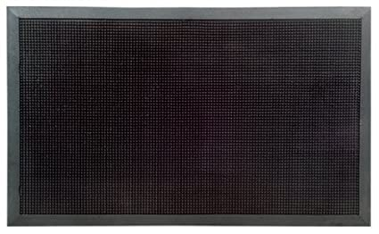 Amazon Com Imports Decor Rubber Door Mat Rubber Studs 24 Inch By