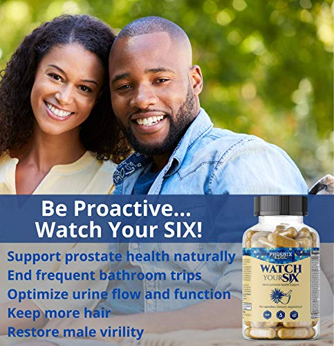 Prostate Health Supplement for Men, Stop Frequent Urination, End Nighttime Trips to the Bathroom | All Natural Prostate Support Plus Saw Palmetto, Beta Sitosterol, Zinc, Pumpkin