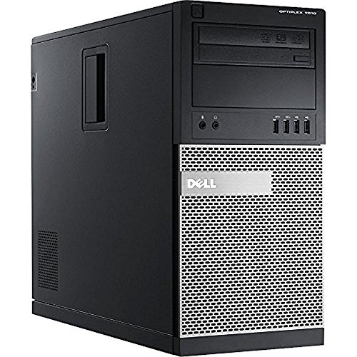 Dell OptiPlex 7010 Minitower Desktop PC - Intel Core i5-3470, 3.2GHz, 8GB, 1TB, DVD, Windows 10 Professional (Renewed) (Tower I5)