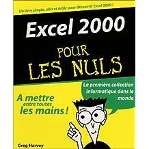 Excel 2000 -pour les nuls