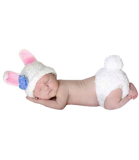 AKAAYUKO Bebé Recién Nacido Hecho A Mano Crochet Foto Fotografía ...