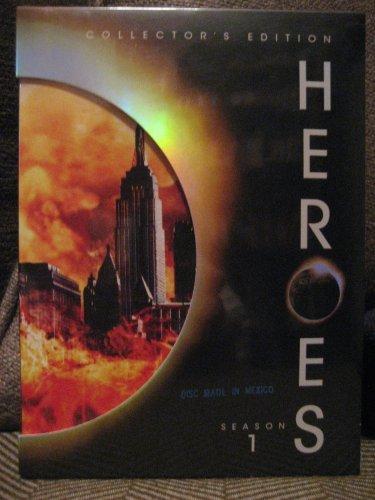 Heroes : Season One (Exclusive Packaging w/Bonus DVD + Four Miniature Paintings)