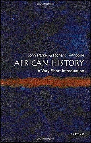 African History: A Very Short Introduction por Richard Rathbone