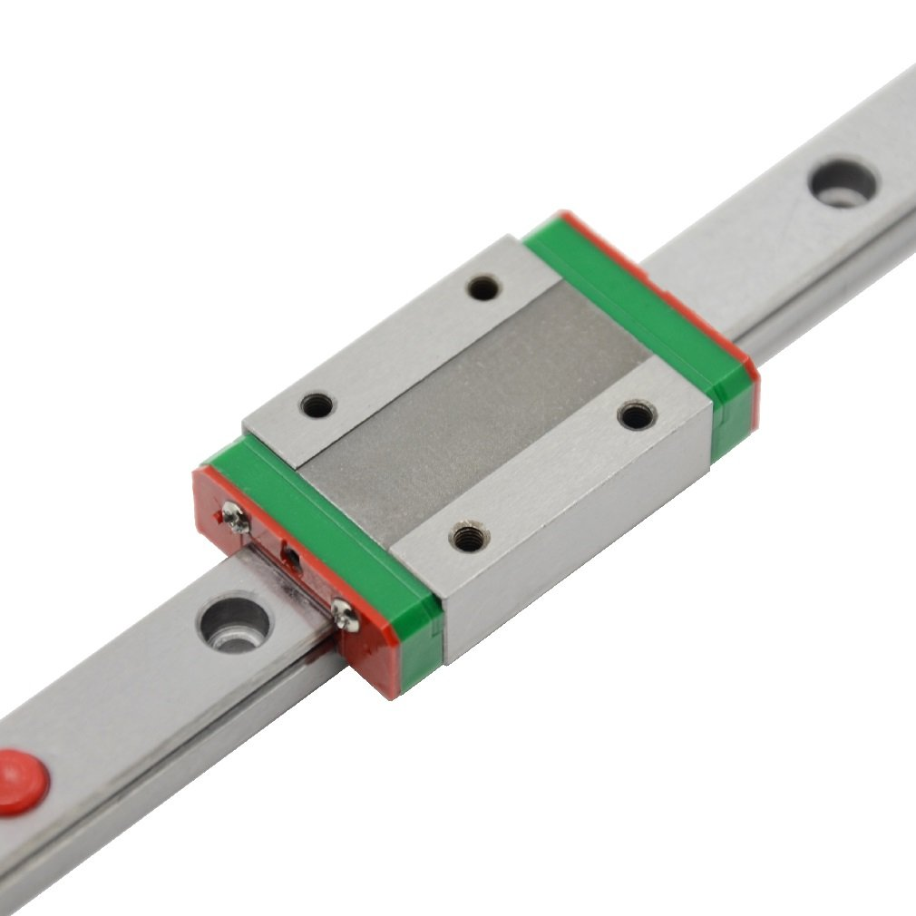 ReliaBot 550mm MGN12 Linear Motion Rail Guide with MGN12H Carriage Block for 3D Printer and CNC Machine