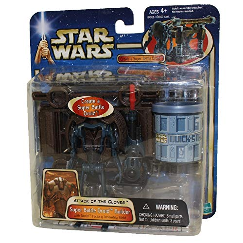 Star Wars: Episode 2 Deluxe Super Battle Droid Builder Action Figure