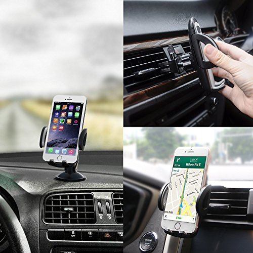 ect IEhotti Idea Car Phone Mount Magnetic Phone Holder for Car Fun Phone Mount Car Dashboard Phone Holder GPS Cradle Car Phone Holder Compatible with iPhone XS XR X 8 7 Galaxy note 10 S9 S8 S7 J3