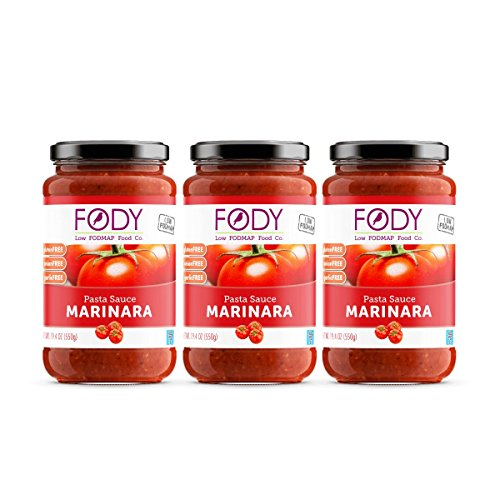 Fody Food Co, Marinara Pasta Sauce, Low FODMAP and Gut Frien