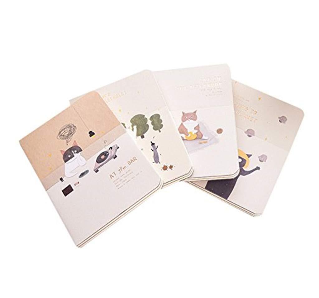 Toruiwa 4X Cuaderno Cuaderno Dibujo Cuadernos Bonitos ...