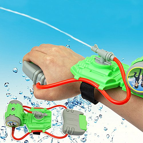 1pc Plastic Wrist Water Gun Outdoor Toy Gun Water-Sprinkling Swimming Pool Beach Water Pistol Shooter Toy Set