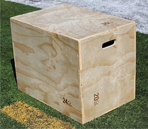 Renegade Fitness Caja pliométrica de Madera para Saltar, Ideal para Crossfit, MMA, Equipamiento de Gimnasio, Sentadillas: Amazon.es: Deportes y aire libre