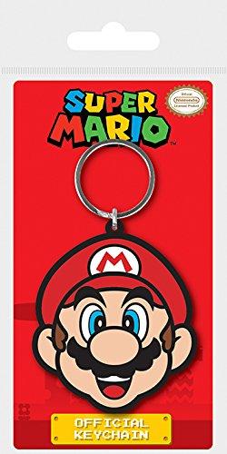 Key chain Super Mario - Llavero de Goma Mario: Amazon.es: Hogar