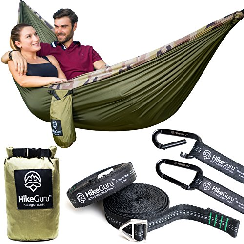 Double Hammock (Army Green / Camouflage)