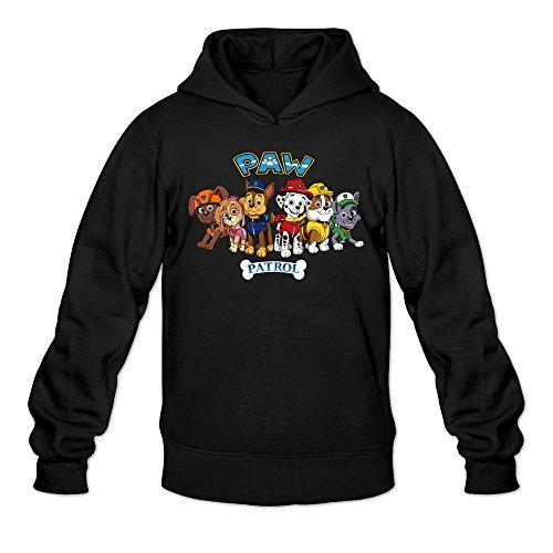 Cru Grand Cake (MARY Men's Cool Animated Series PAW Patrol Logo Sweatshirts Black)
