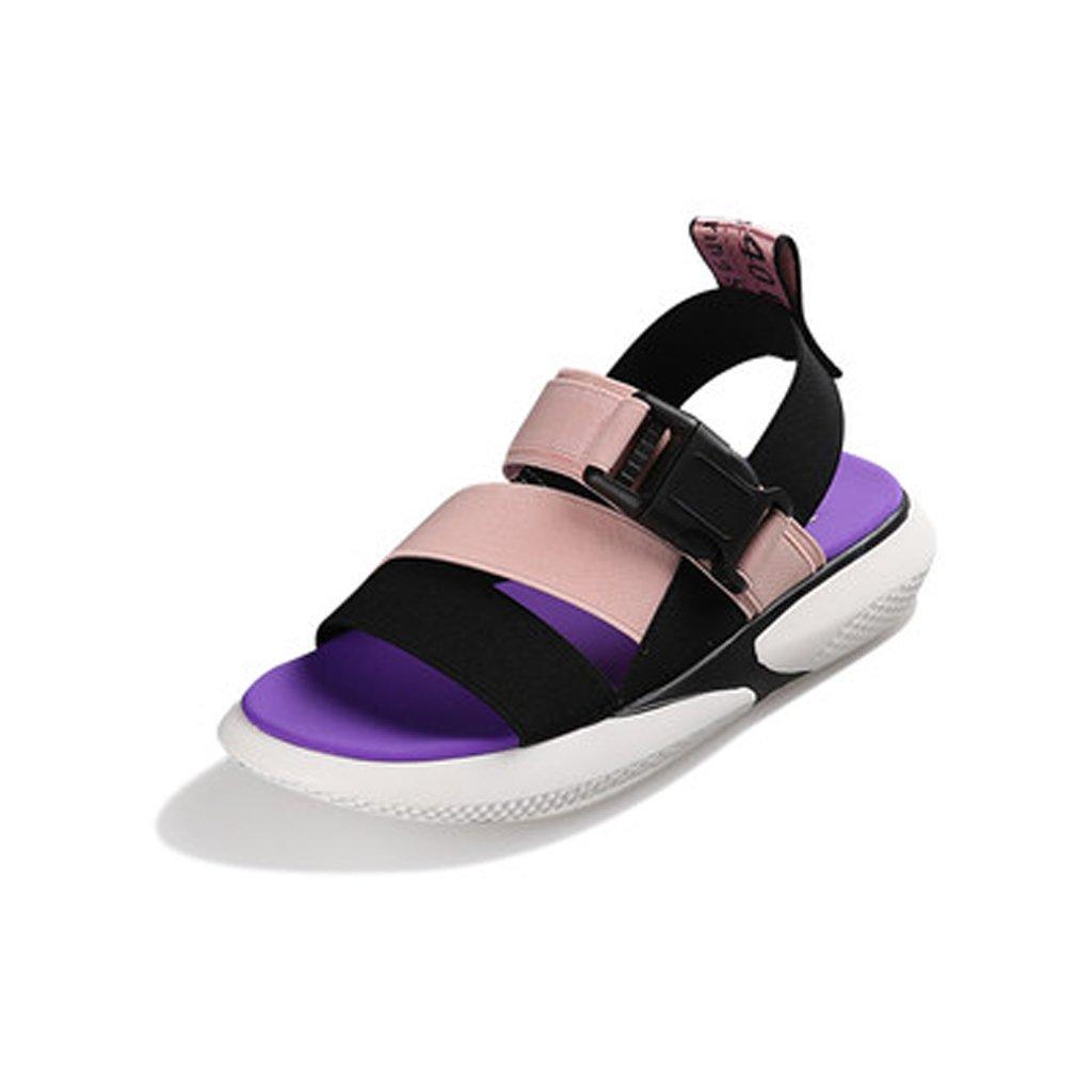 YUBINliangxie Net Bewegung Sandalen Wild Casual Harajuku Flache Net YUBINliangxie ROT Schuhe (Größe : 36) - 5328ff