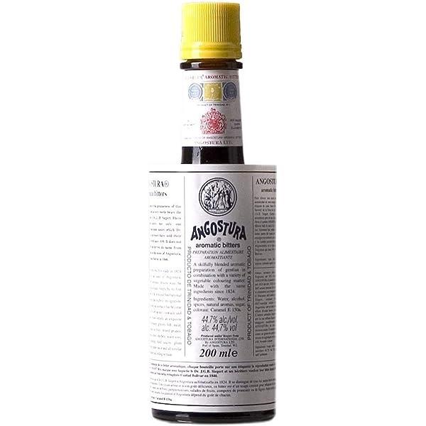 Amargo de Angostura 200ml: Amazon.es: Alimentación y bebidas