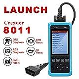Launch Automotive Scanner CReader 8011 OBD2 Scanner Car Code Reader OBDII/EOBD Diagnostic Scan Tool for ABS/SRS, Support EPB/BMS and Oil Service Light Resets
