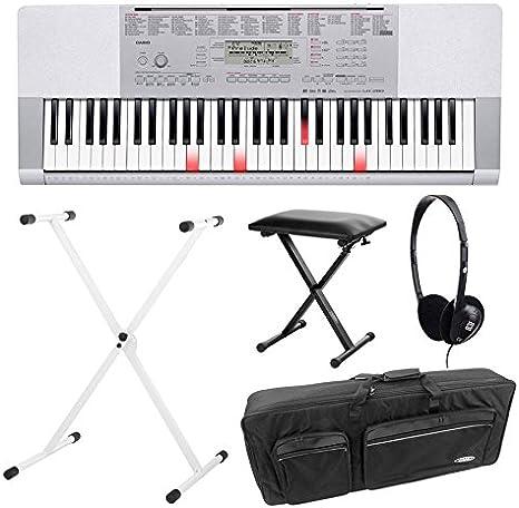 Casio LK de 280 Bombilla teclas Keyboard Deluxe Set con ...