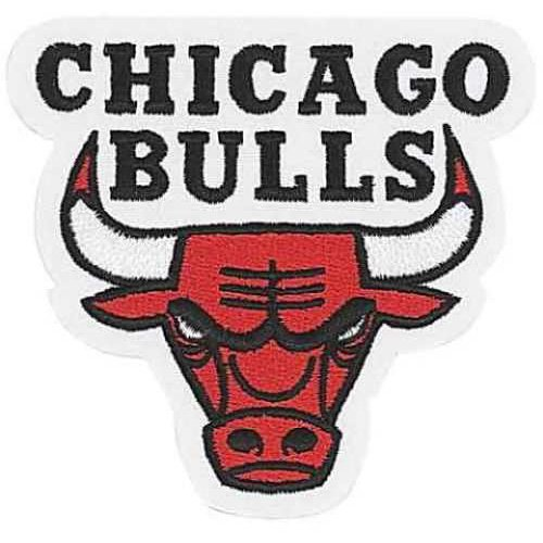 National Emblem PATCHBKTCHI Chicago Bulls NBA Team Logo Patch by National Emblem
