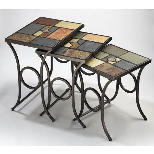 Hillsdale Pompeii Nesting Tables by Hillsdale