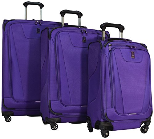 travelpro-maxlite-4-3-piece-expandable-spinner-luggage-set-29-25-and-21-purple