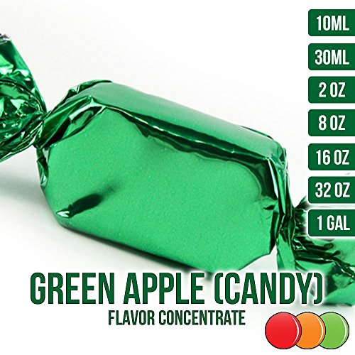 Sour Lips (OOOFlavors Green Apple (Candy) Flavored Liquid Concentrate - Natural (30 ml))