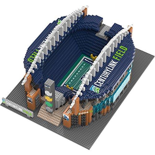 Centurylink Field Nfl Brxlz 3D Stadium Building Blocks