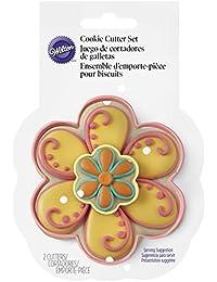 Want 2308-4458 Wilton 2-Piece Flower Cookie Cutter Set reviews