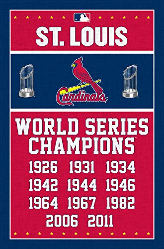 - Trends International St. Louis Cardinals-Champions Mount Bundle Wall Poster 22.375