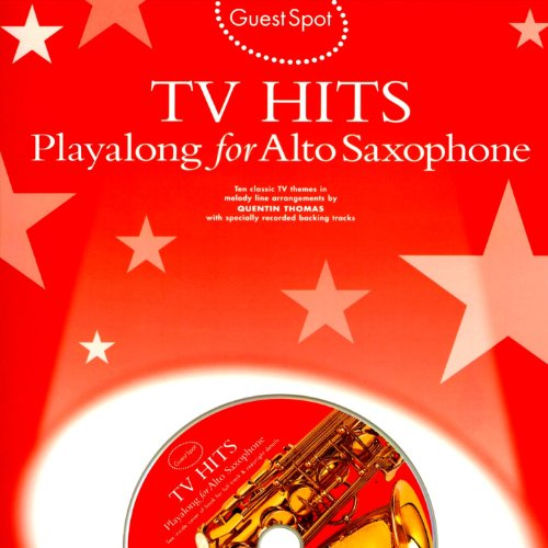 Tracks Saxophone Backing (Playalong for Alto Saxophone: Tv Hits)